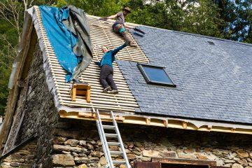 Rénovation toit ardoise méthode du sarking